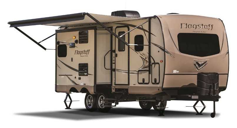 Flagstaff Travel Trailers   Lightweight and high quality combined!