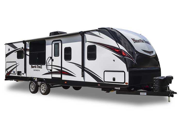 North Trail Luxury Travel Trailers Best Construction and Highest Quality!