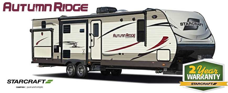 Jayco Starcraft Autumn Ridge