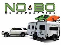 No Boundaries Light Weight Travel Trailers