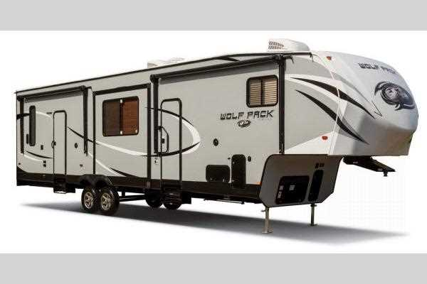Wolf Pack 5th Wheel Garage Model Toy Haulers
